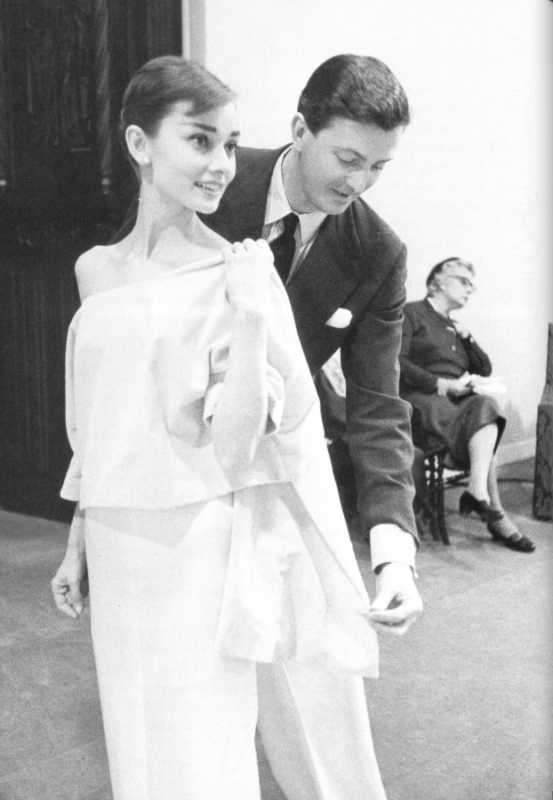 Givenchy-haute-couture-Audrey-Hepburn-et-Hubert-de-Givenchy-Paris-France-Europe.