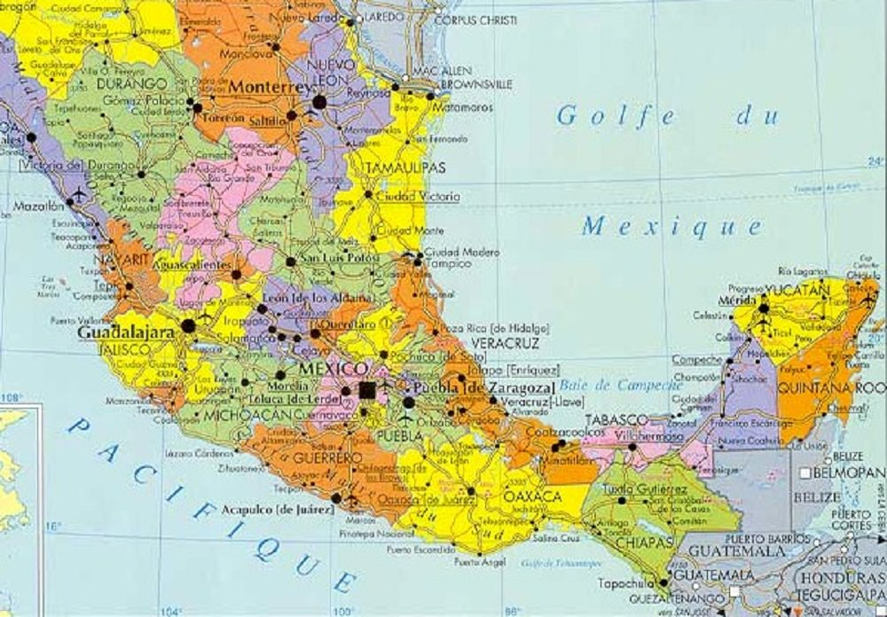 Assez Amérique du Sud géographie XX98