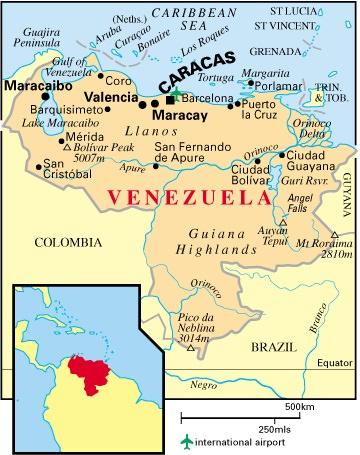Carte Damerique Du Sud Avec Les Pays.Amerique Du Sud Geographie