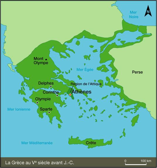 Antiquité géographie
