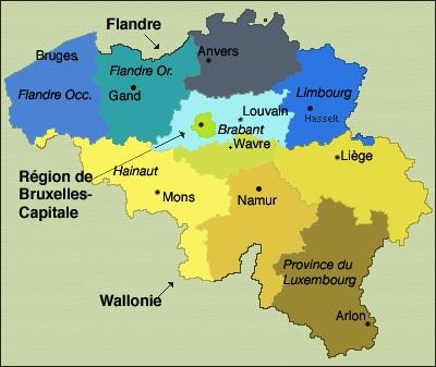 Belgique g ographie - Office du tourisme francais bruxelles ...