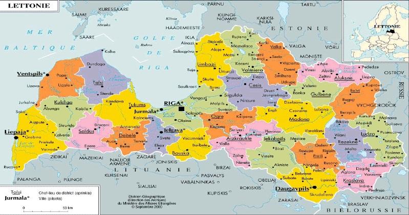 Carte Europe De Lest.Europe De L Est Geographie