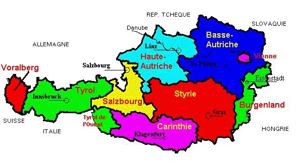 Carte Geographique De Leurope Occidentale.Europe De L Ouest