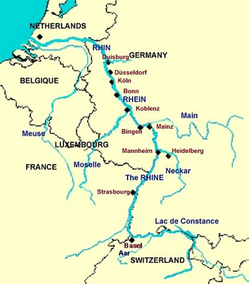 Rhin-et-son-bassin-Alsace-France-Suisse-Allemagne-Pays-Bas-Europe.