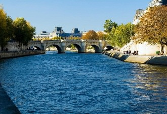 Seine-le-Pont-Neuf-Paris-France-Europe