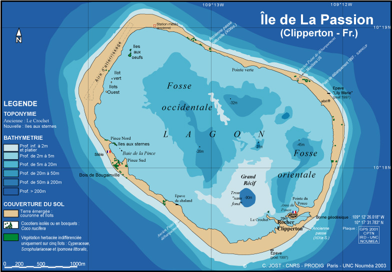 Clipperton-ile-de-Clipperton-atoll-camp-Bougainville-Ocean-Pacifique-France