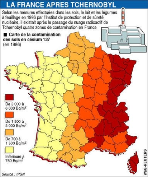Tchernobyl-la-France-Apres-Tchernobyl-carte-de-la-contamination-des-sols-en-cesium-137-en-1986-France-Europe.