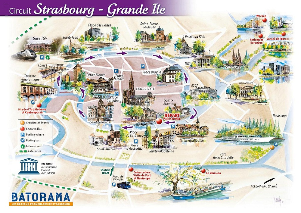 France touristique for Site francais