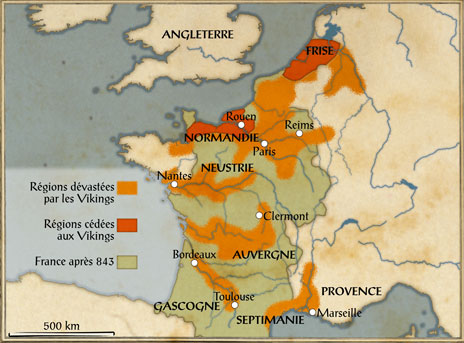 Viking-France-843-invasions-viking-Frise-Reims-Paris-Neustrie-Nantes-Auvergne-Clermont-Bordeaux-Toulouse-Septimanie-Gascogne-Marseille