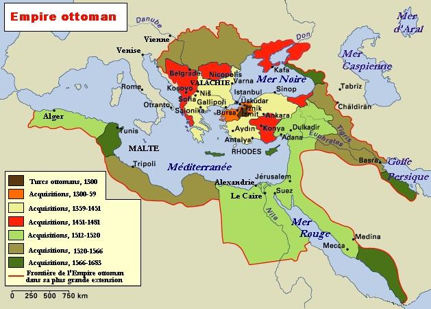 Moyen Age géographie