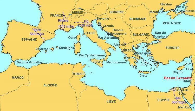 carte europe liban