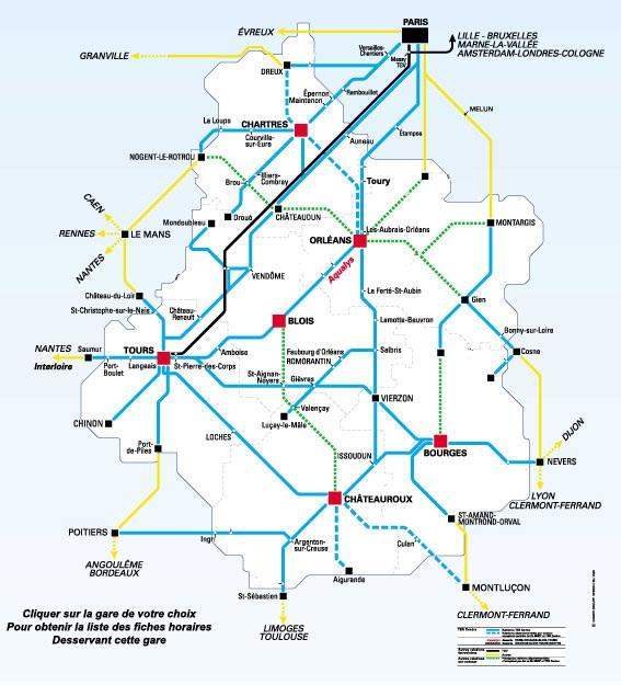 Carte Alsace Sncf.Regions De France