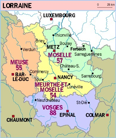 meurthe et moselle departement 54 carte de france