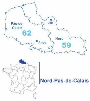 R gions de france for Region du 59