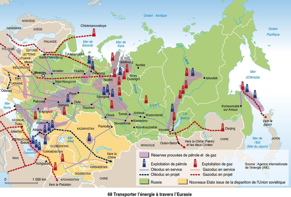 Russie-énergie-pétrole-gaz-oléoducs-gazoduc-russie