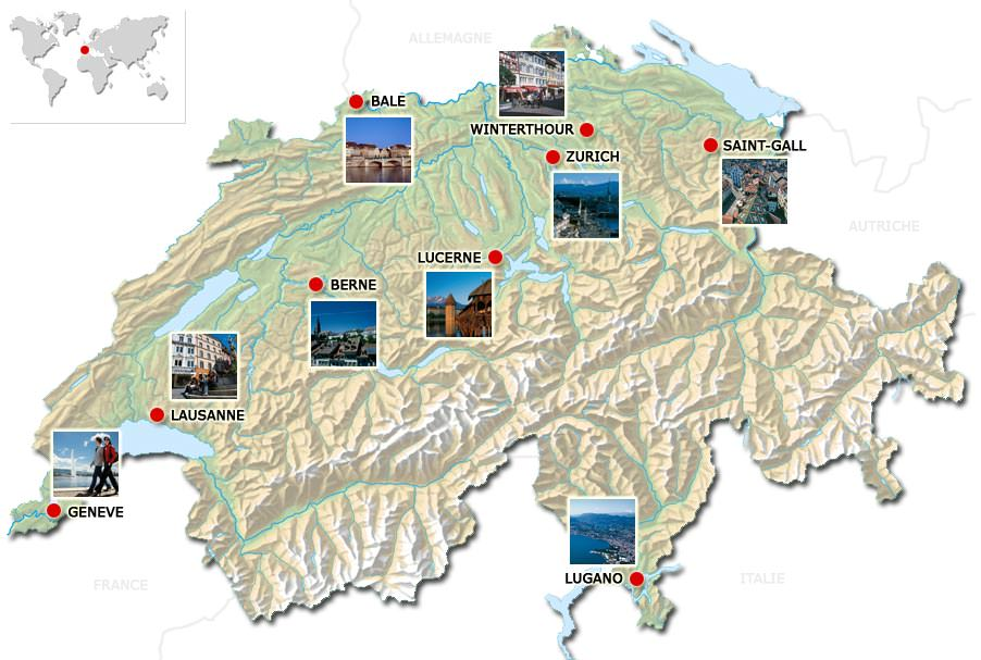 Suisse géographie