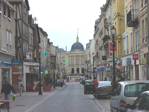 France villes de france for Centre commercial chalons en champagne