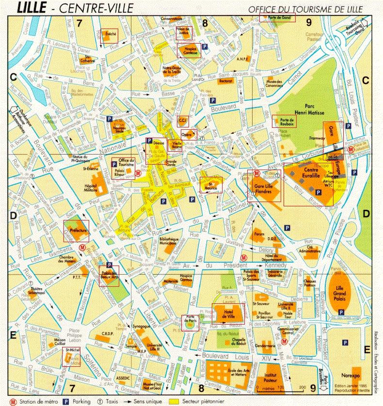 Toulousd Plan De La Ville