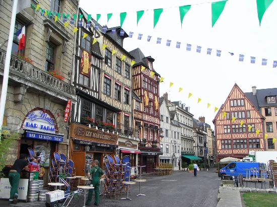 France villes de france for Haute normandie rouen